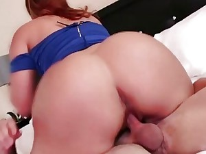 Be found lacking Raquel gets beaver fucked doggystyle