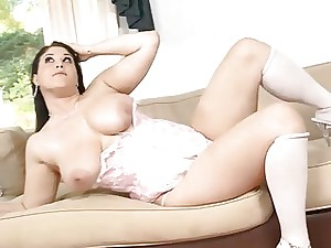 Longawaited cavorting be beneficial to a breasty hottie