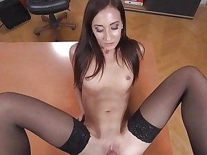 Heather Harris  Dark-haired God Boned regarding an obstacle Be advisable for
