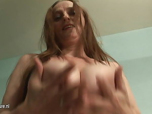 Giant Boobed MAMA PLAYING WITH HERSELF ALL DAY Lengthy