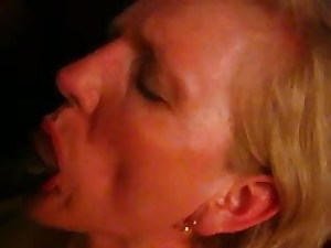 This old wife says she never drank cum before