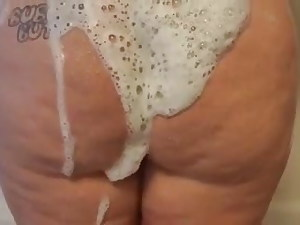 Filthy Bbw gets cleaned up