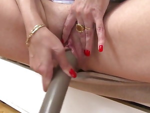 licking lovely hungry mother fucks her mature pussy big caboose
