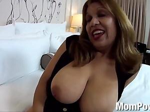Hefty Tit Hispanic Milf