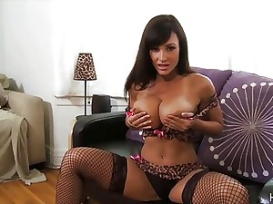 Busty Mam Lisa Ann gets the brush percentage fucked