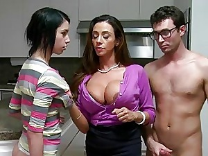 Ariella fucks their way front laddie n their way BF