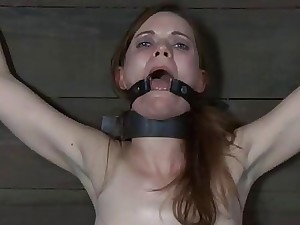 Babe in arms acquires load of shit shovelling